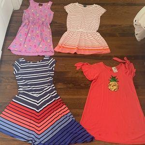 4 girls dresses